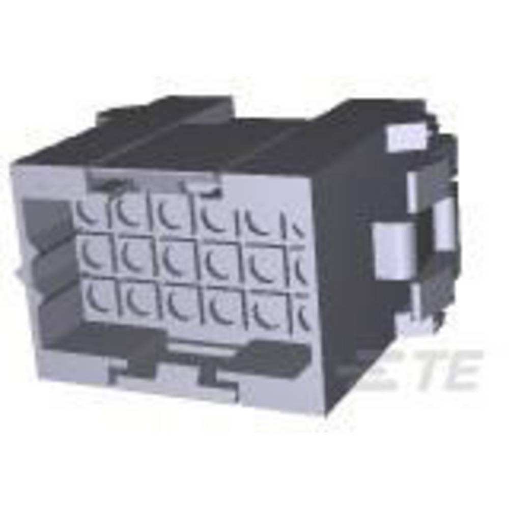Ohišje kabelskega vtiča, skupno št. polov: 18 TE Connectivity 207443-1 razporeditev kontaktov: 5 mm 1 kos