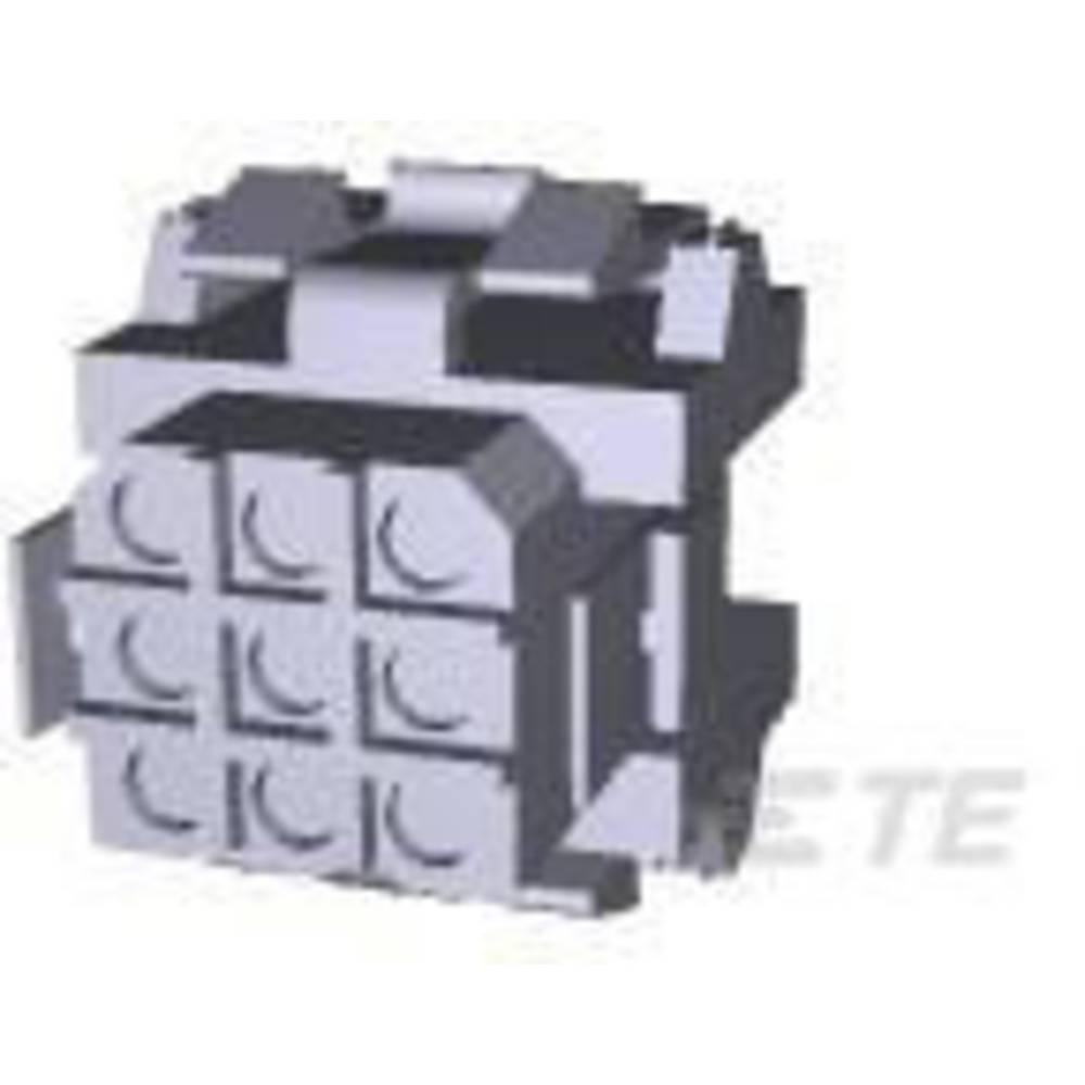 Tilslutningskabinet-kabel Metrimate Samlet antal poler 9 TE Connectivity 207439-1 Rastermål: 5 mm 1 stk