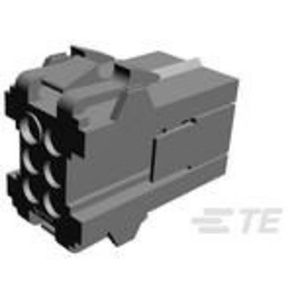 Ohišje kabelskega vtiča, skupno št. polov: 6 TE Connectivity 207153-1 razporeditev kontaktov: 5 mm 1 kos