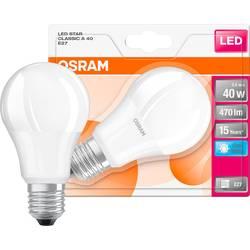 LED Glödlampsform E27 OSRAM 5 W 470 lm A+ Neutralvit 1 st