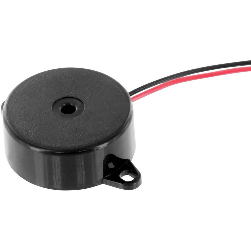 Piezo davač signala, glasnoća: 80 dB 1.5 - 30 V DC sadržaj: 1 kom.