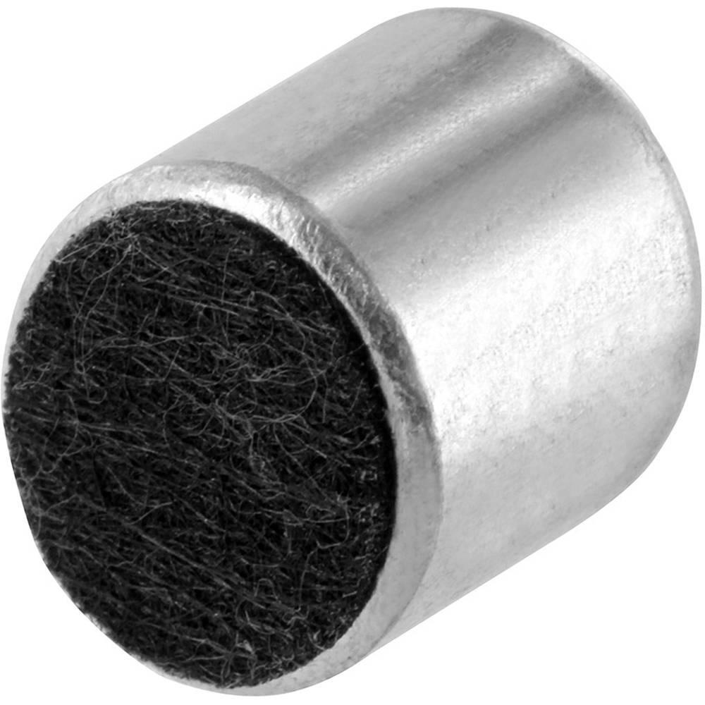 Mikrofonska kapsula, obratovalna napetost: 1 - 10 V občutljivost: -45dB 1KHz 0dB: 1V /Pa vsebina: 1 kos
