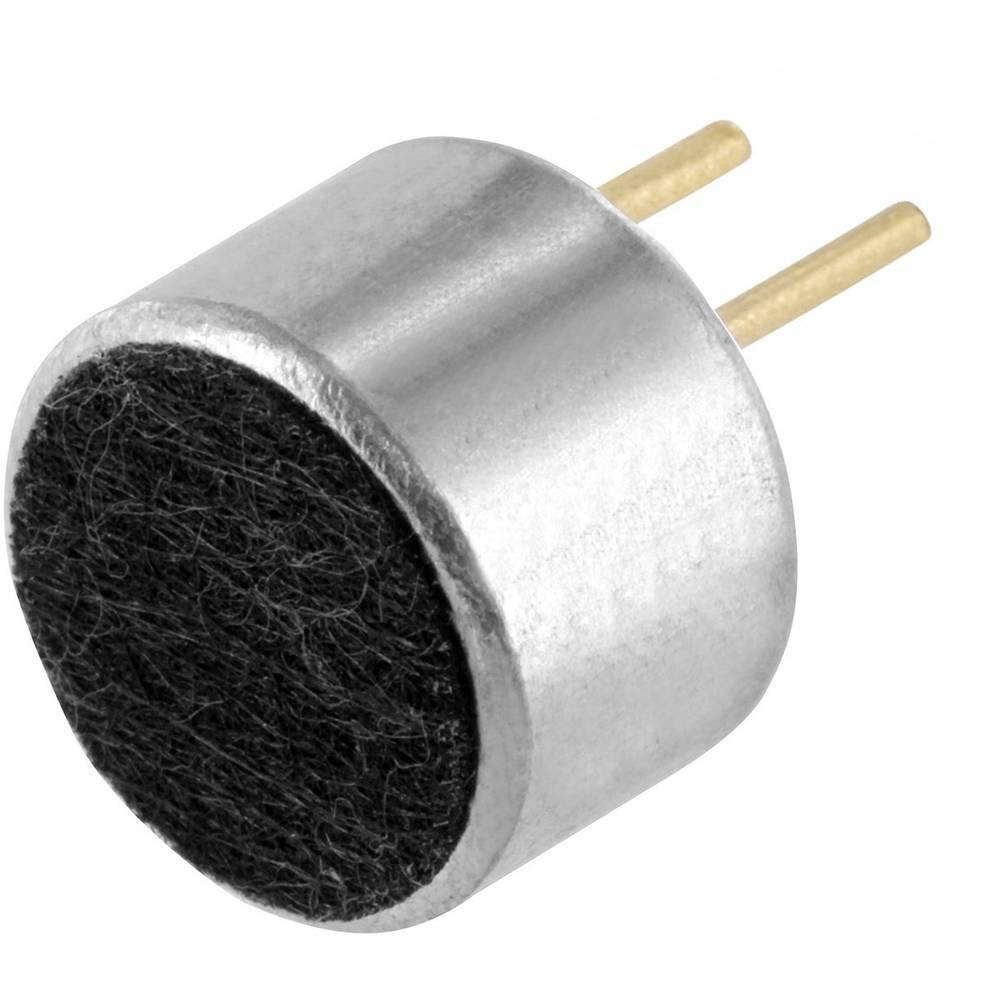 Mikrofonska kapsula, obratovalna napetost: 1 - 10 V občutljivost: -46dB 1KHz 0dB: 1V/Pa vsebina: 1 kos