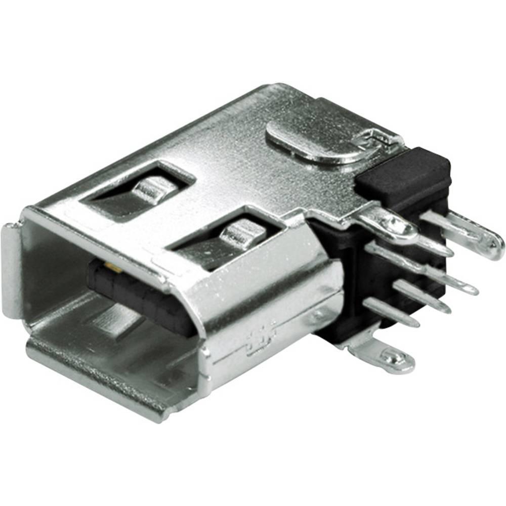 FireWire-stik econ connect FWB6PVB Sort 1 stk