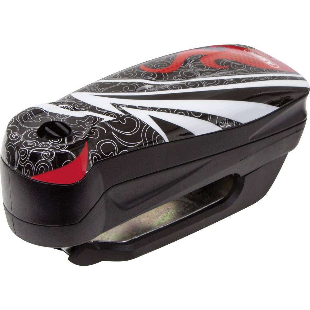 Lås til bremseskive ABUS Detecto 7000 RS1 flame black Sort