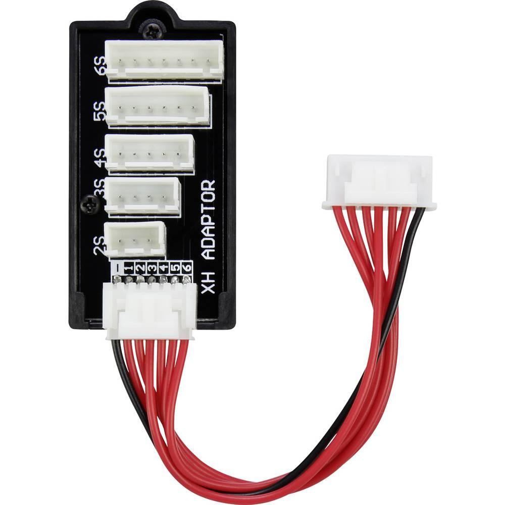 LiPo uravnalni adapter, izvedba polnilnika: PQ izvedba akumulatorja: XH primeren za celice: 2 - 6 VOLTCRAFT