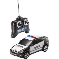 Revell Control 24655 BMW X6 Police 1:24 RC začetniški model avtomobila na električni pogon, cestni model, pogon na zadnja kolesa