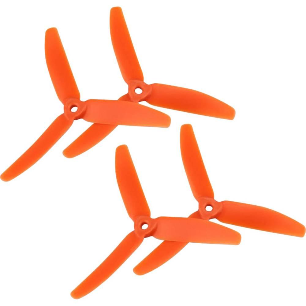 GEMFAN 3 rezila Komplet propelerjev za dirkalni kopter Radiusni 5 x 4  (12.7 x 10.2 cm)