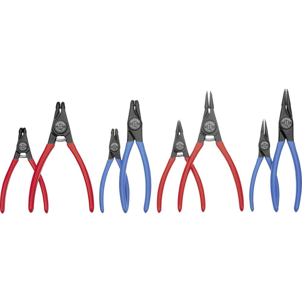 Vzmetne obročne klešče-komplet primerne za zunanje- in notranje obroče 12-25 mm, 19-60 mm 10-25 mm, 19-60 mm v obliki konice pod