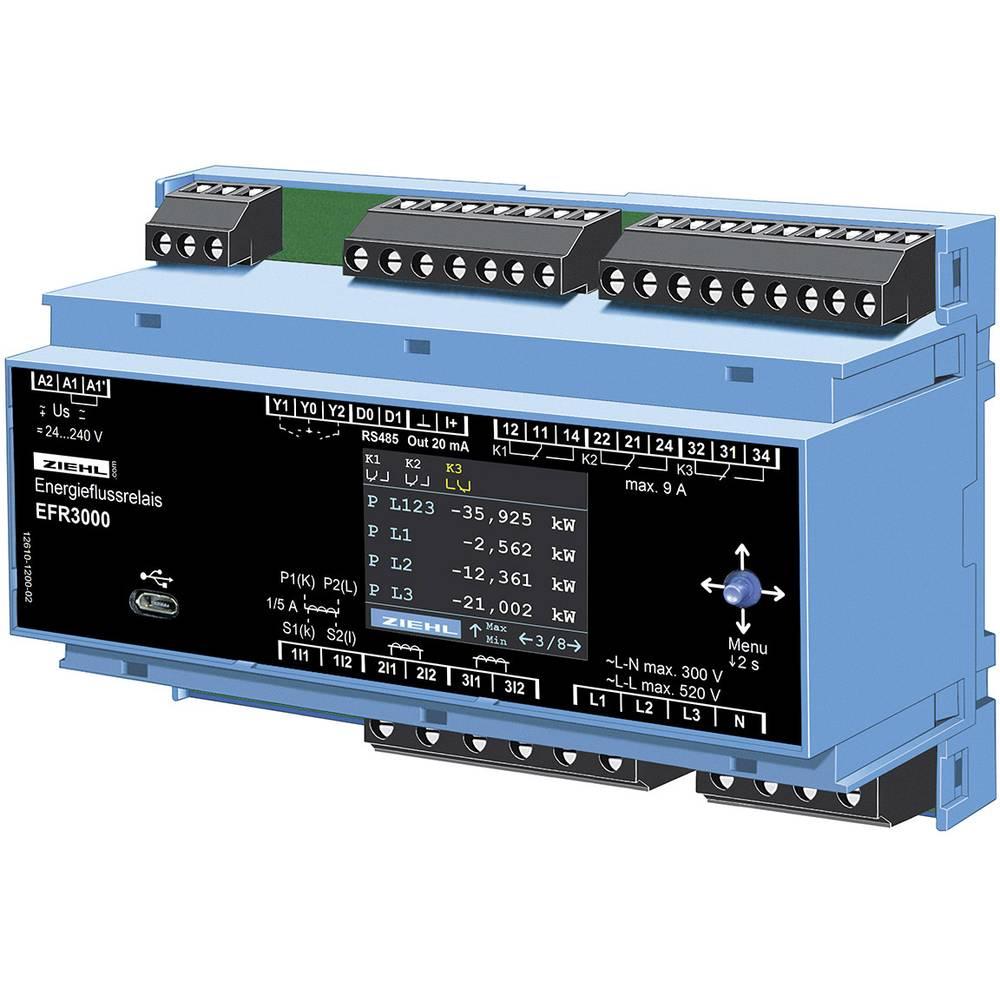 Rele za pretok energije Ziehl EFR3000 Število relejnih izhodov: 3