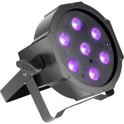 LED-PAR-projektør Adam Hall Antal LEDer: 7 x 3 W Sort