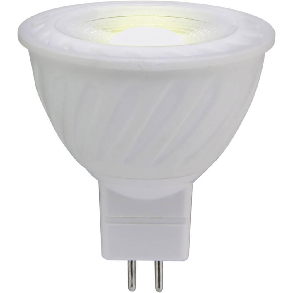 LED žarnica GU5.3 reflektorska 4.5 W = 30 W topla bela (premer x D) 50 mm x 53 mm EEK: A+ Sygonix 1 kos