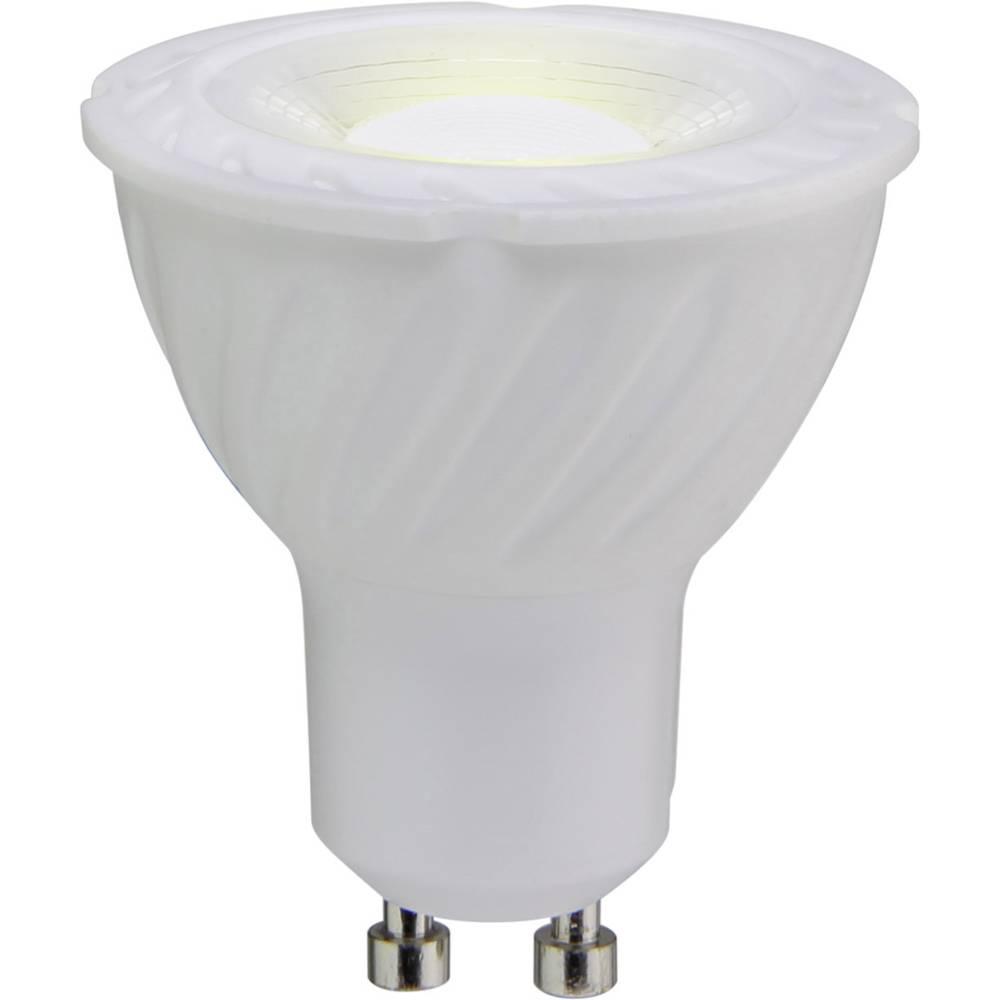 LED žarnica GU10 reflektorska 6 W = 55 W topla bela (premer x D) 55 mm x 50 mm EEK: A+ Sygonix 1 kos