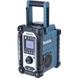 UKV Gradbiščni radio Makita DMR107 AUX, SV, UKV odporen na špricano vodo zelena, črna