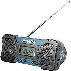 FM Byggradio Makita MR051 AUX, MW, FM Grön, Svart