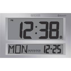Radijski kontrolirani zidni sat Eurochron 424 mm x 273 mm x 44 mm sive boje