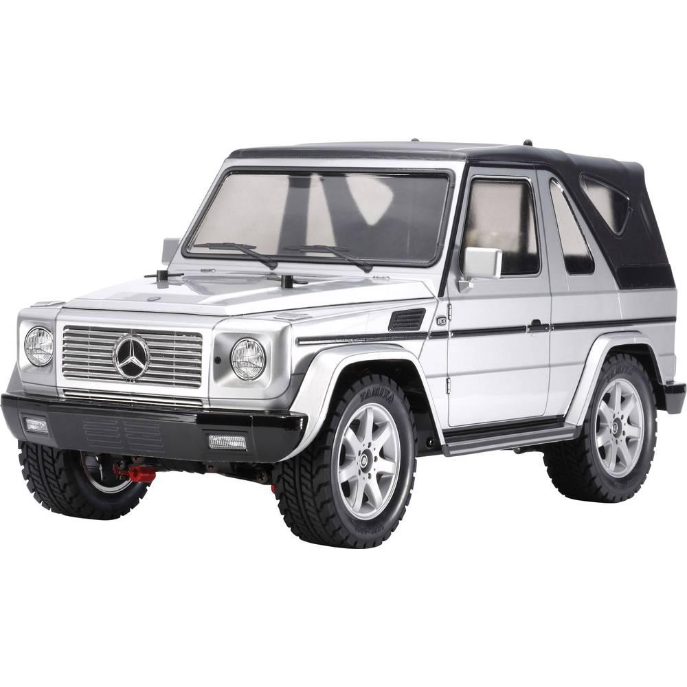 Tamiya Mercedes Benz G320 Brushed 1:10 RC model avtomobila na električni pogon, cestni model, pogon na vsa kolesa , komplet