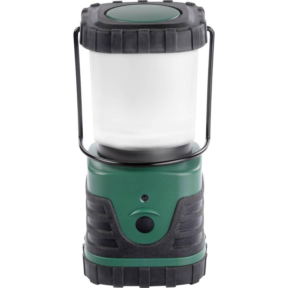 LED laterna za kampiranje Ampercell ELBA baterijsko napajanje 419 g temno zelena, črna 10400