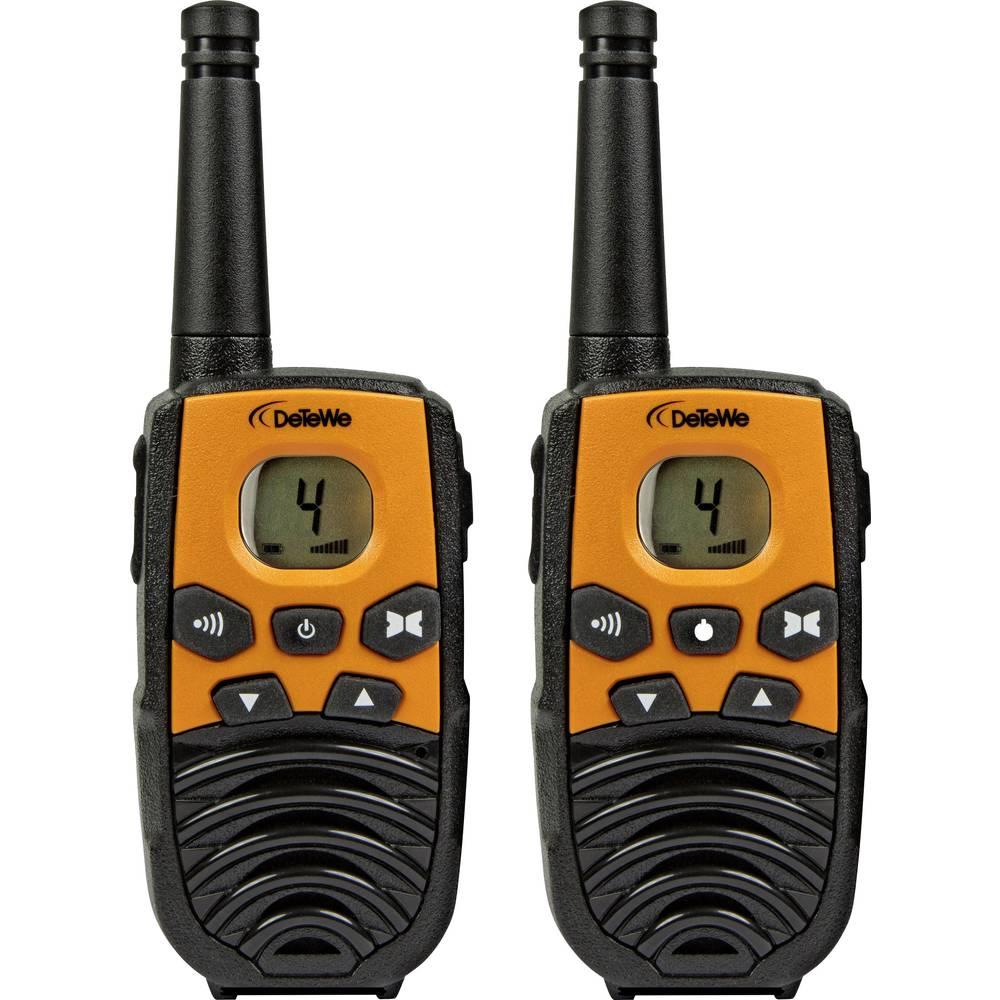PMR-handradio DeTeWe Outdoor 4000 Set 2 st