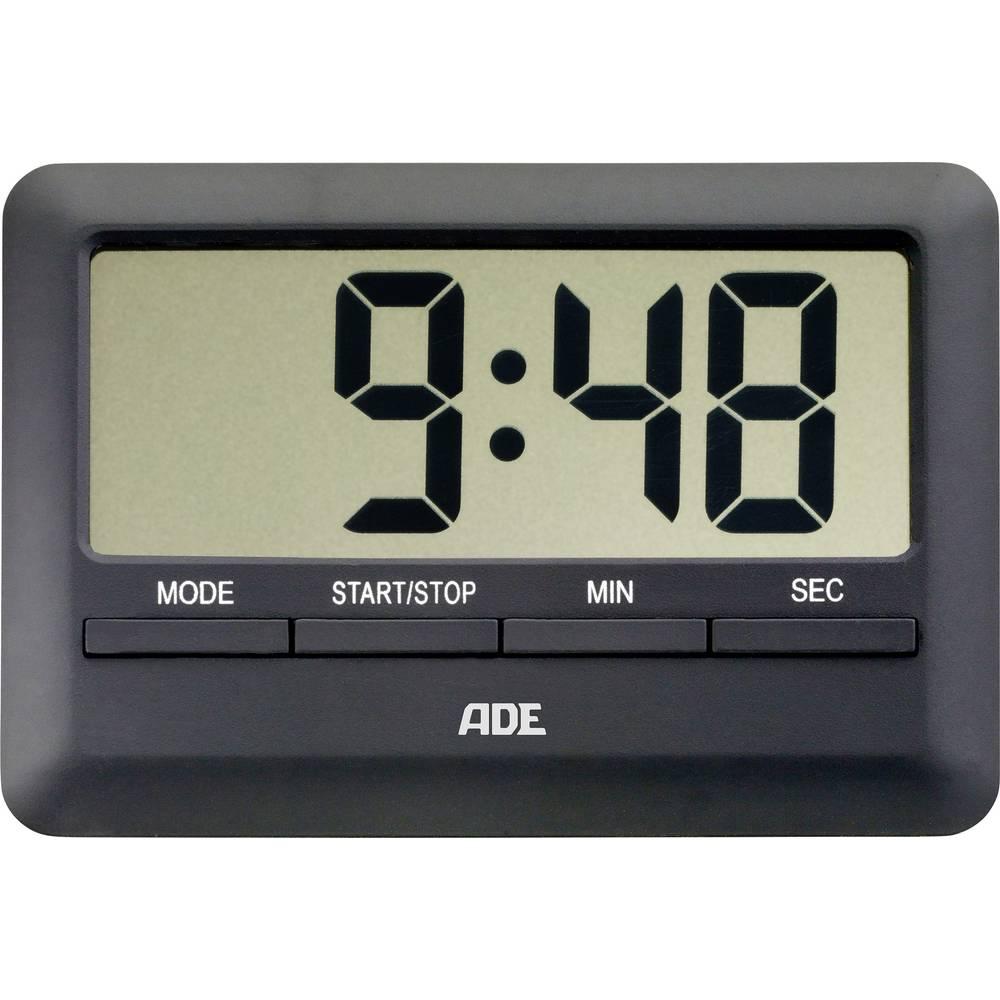 ADE digitalni kuhinjski mjerač vremena TD 1601 (D x Š x V) 101 x 70 x 11 mm crni