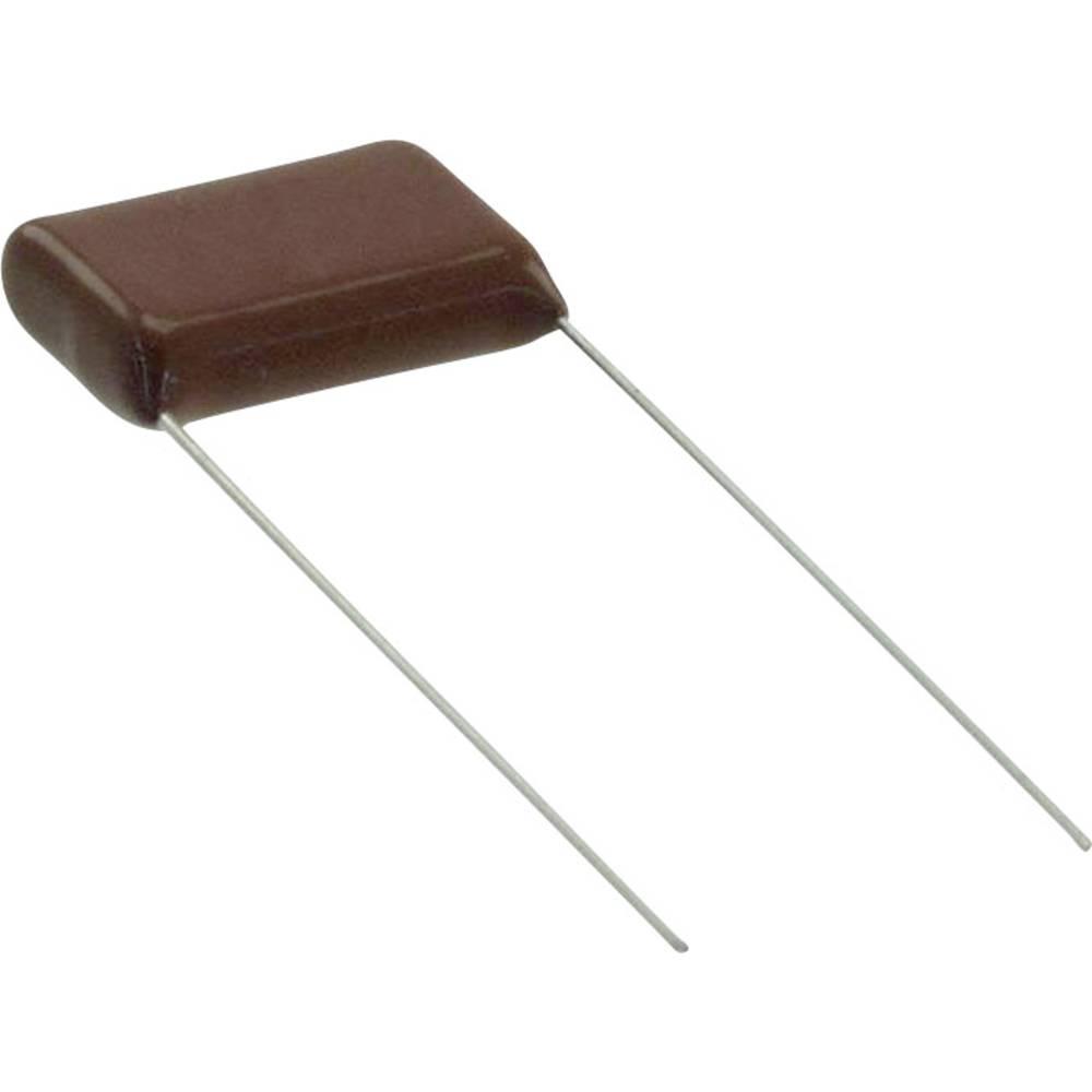 Folijski kondenzator, radialno ožičen 10000 pF 630 V/DC 5 % 10 mm (D x Š) 12 mm x 4.5 mm Panasonic ECQ-E6103JF 1 kos