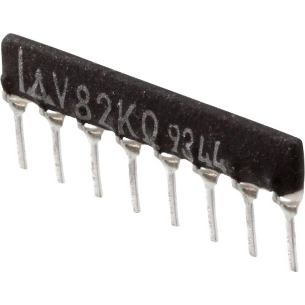 Otporna mreža 82 k radijalno ožičena SIP-8 200 mW Panasonic EXB-F8V823G 1 kom.