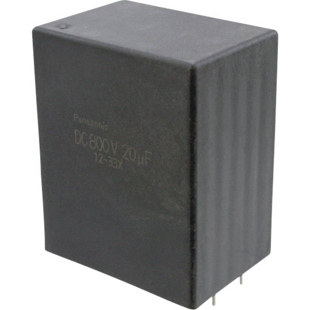 Folijski kondenzator, radialno ožičen 25 µF 800 V/DC 10 % 37.5 mm (D x Š) 41.5 mm x 30 mm Panasonic EZP-E80256MTA 1 kos