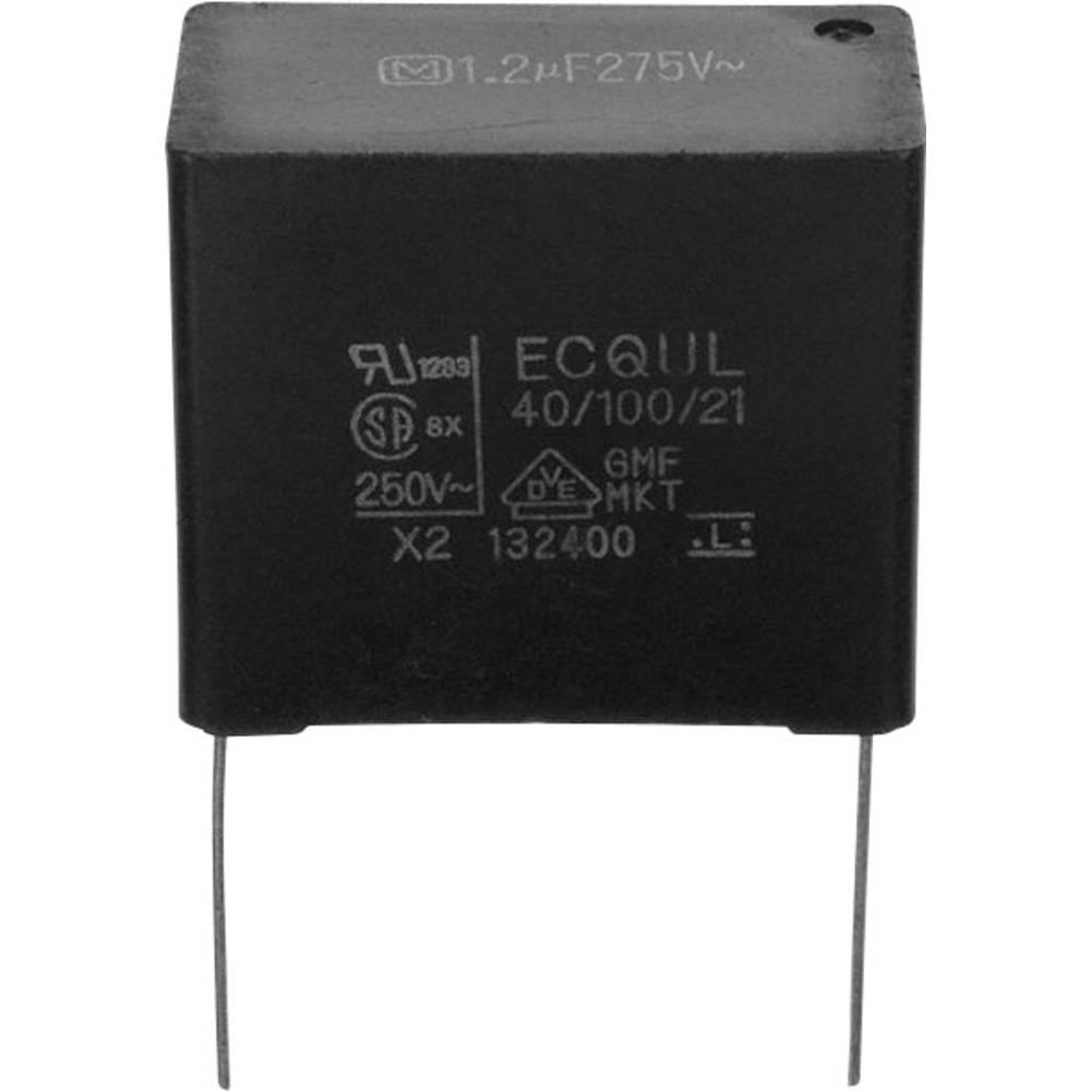 Folijski kondenzator, radialno ožičen 0.47 µF 450 V/DC 10 % 15 mm (D x Š) 17.5 mm x 5.8 mm Panasonic ECW-FD2W474K 1 kos
