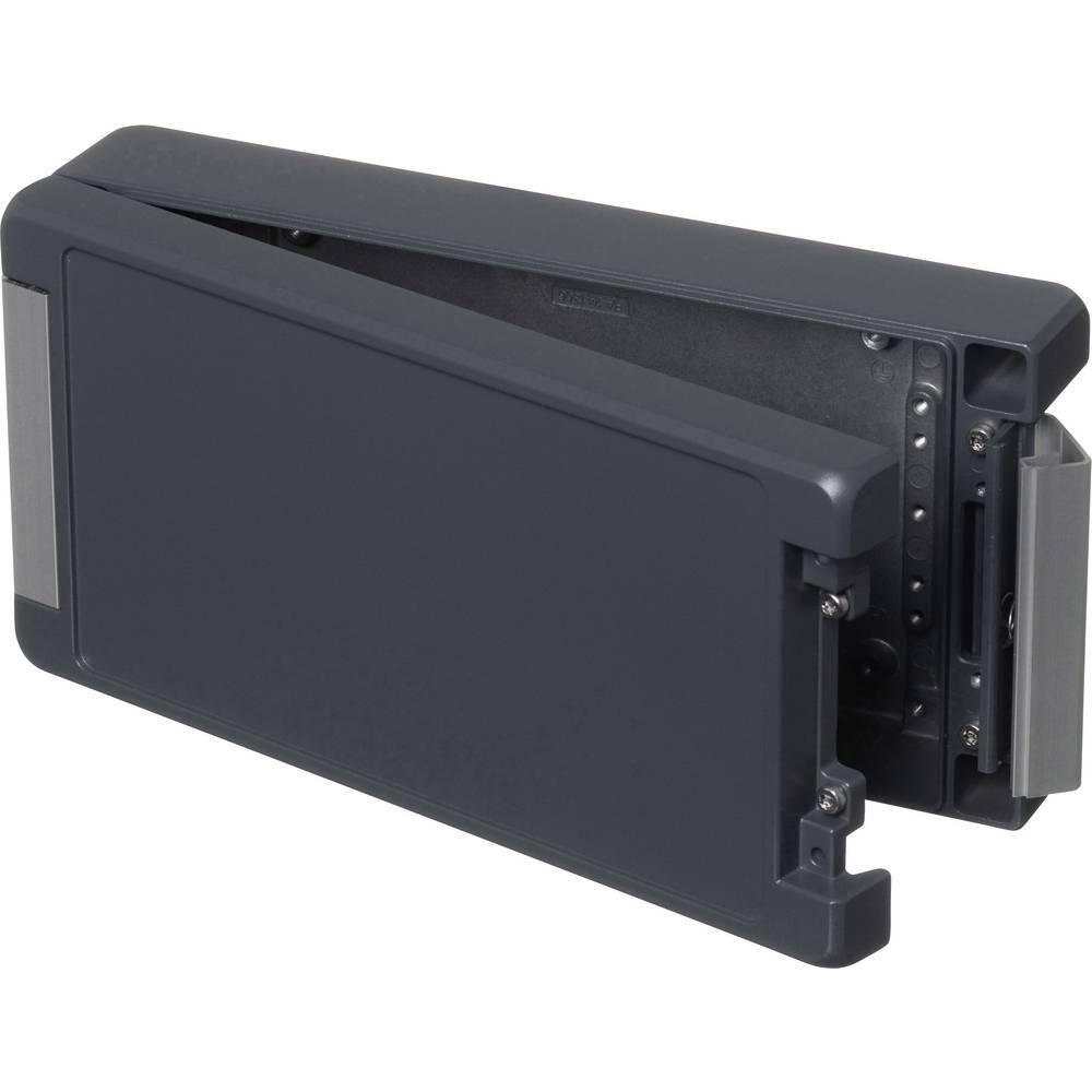 Universalkabinet 259 x 128 x 60 Aluminium Grafitgrå (RAL 7024) Bopla BA 241306 F-7024 1 stk