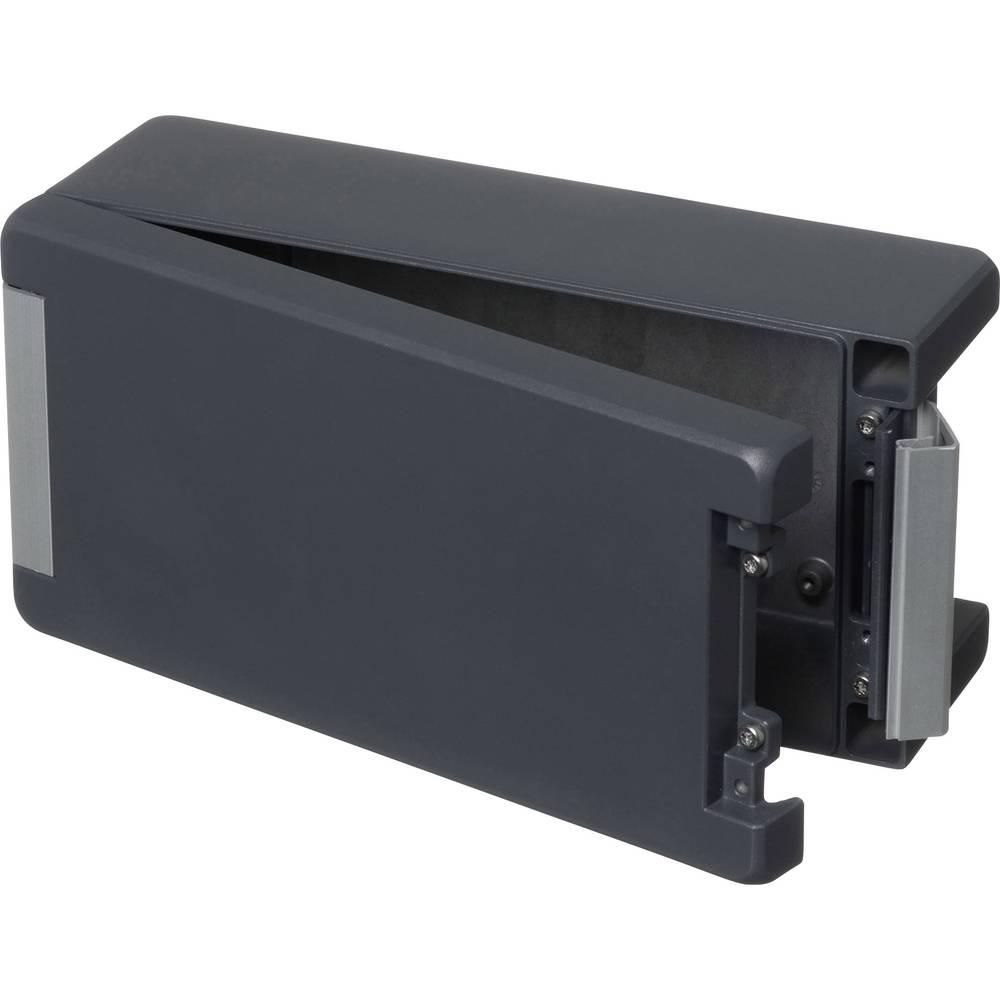 Universalkabinet 259 x 128 x 90 Aluminium Grafitgrå (RAL 7024) Bopla BA 241309-7024 1 stk