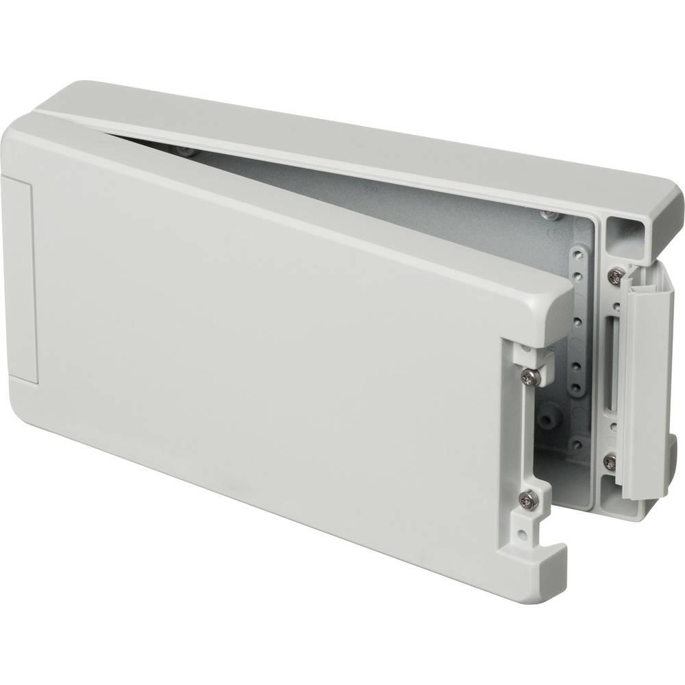 Universalkabinet 259 x 128 x 60 Aluminium Lysegrå (RAL 7035) Bopla BA 241306 7035 1 stk