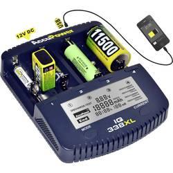 Polnilna naprava za gumbne baterije AccuPower IQ338XL 10440, 14500, 16340, 16650, 17355, 17500, 17670, 18490, 18500, 18650, 2265
