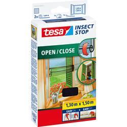 Fluegitter tesa Insect Stop Comfort 55033-21 (L x B) 1300 mm x 1500 mm Antracit 1 stk