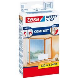 TESA tesa® Mreža proti mrčesu Comfort za okna (D x Š) 2.4 m x 1.2 m bela 55918-20 tesa® Insect Stop COMFORT
