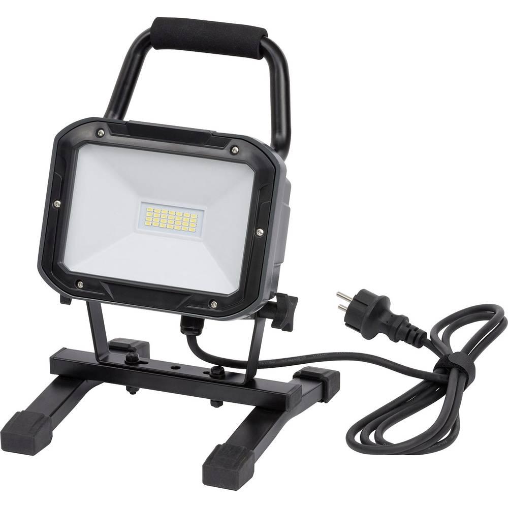 Brennenstuhl prenosna delovna SMD LED svetilka ML DN 2806 S IP54 2m H05RN-F 3G1,0 20W 1720lm energ. razred A 1173820 črna