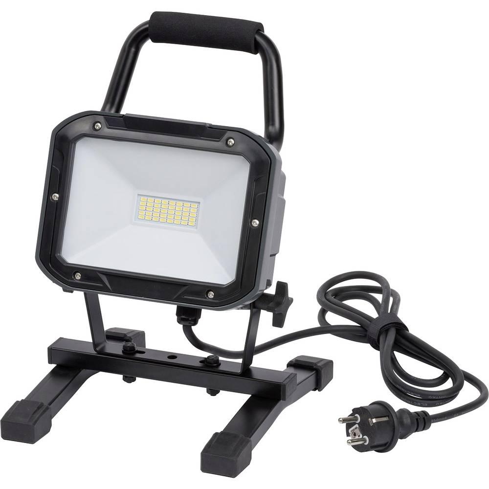 Brennenstuhl prenosna delovna SMD LED svetilka ML DN 4006 S IP54 2m H05RN-F 3G1,0 30W 2350lm 1173830 SMD-LED črna LED