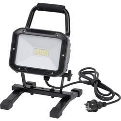 Brennenstuhl Byggeplads-belysning Mobile SMD LED-armatur ML DN 4006 S IP54 2m H05RN-F 3G1,0 30W 2350lm 1173830 Sort LED
