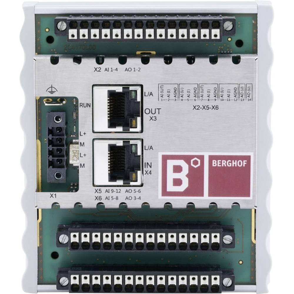 SPS razširitveni modul Berghof ECC AIO 12/6 250001000 24 V/DC