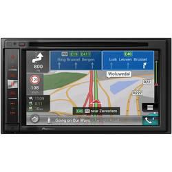 Pioneer AVIC-F980BT Navigationsenhed, fastmontering Europa AppRadio, Tilslutning til bagkamera, Integreret navigationssystem