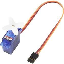 Reely Mikro-Servo S-0009 Analog-servo Transmissionsmaterial: Plast Instickssystem: JR