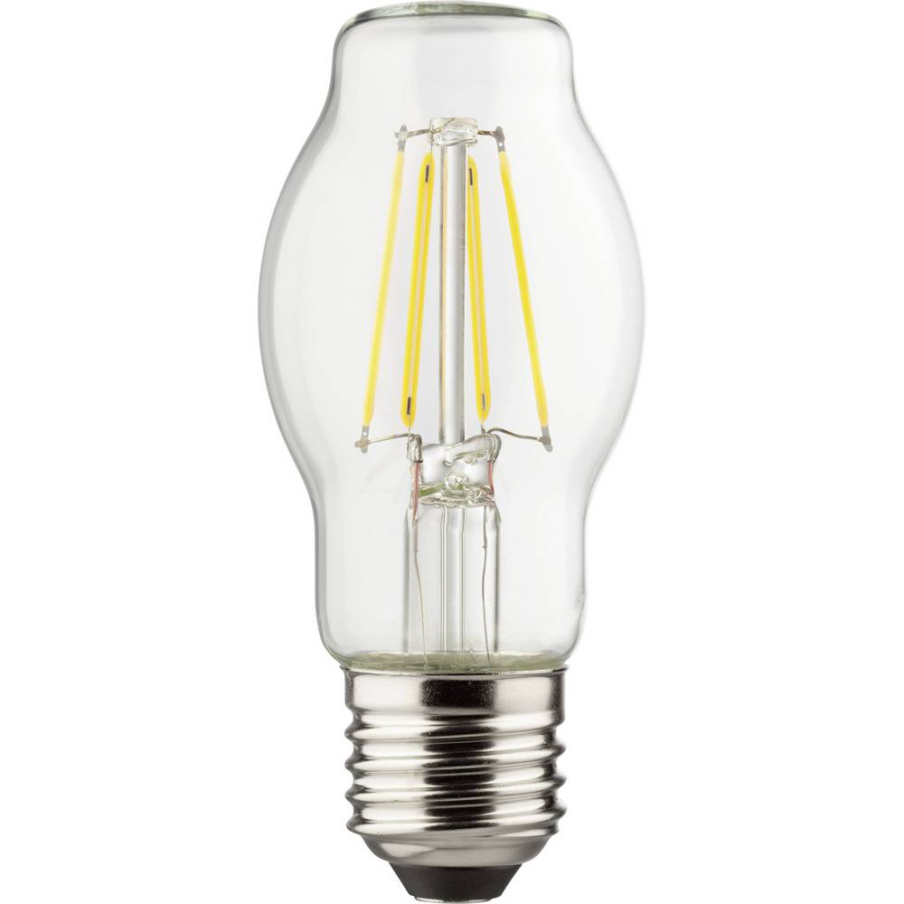 LED žarnica (enobarvna) Müller Licht 230 V E27 7 W = 60 W topla bela, energ. razred: A++ oblika baterije (premer x D) 46 mm x 10