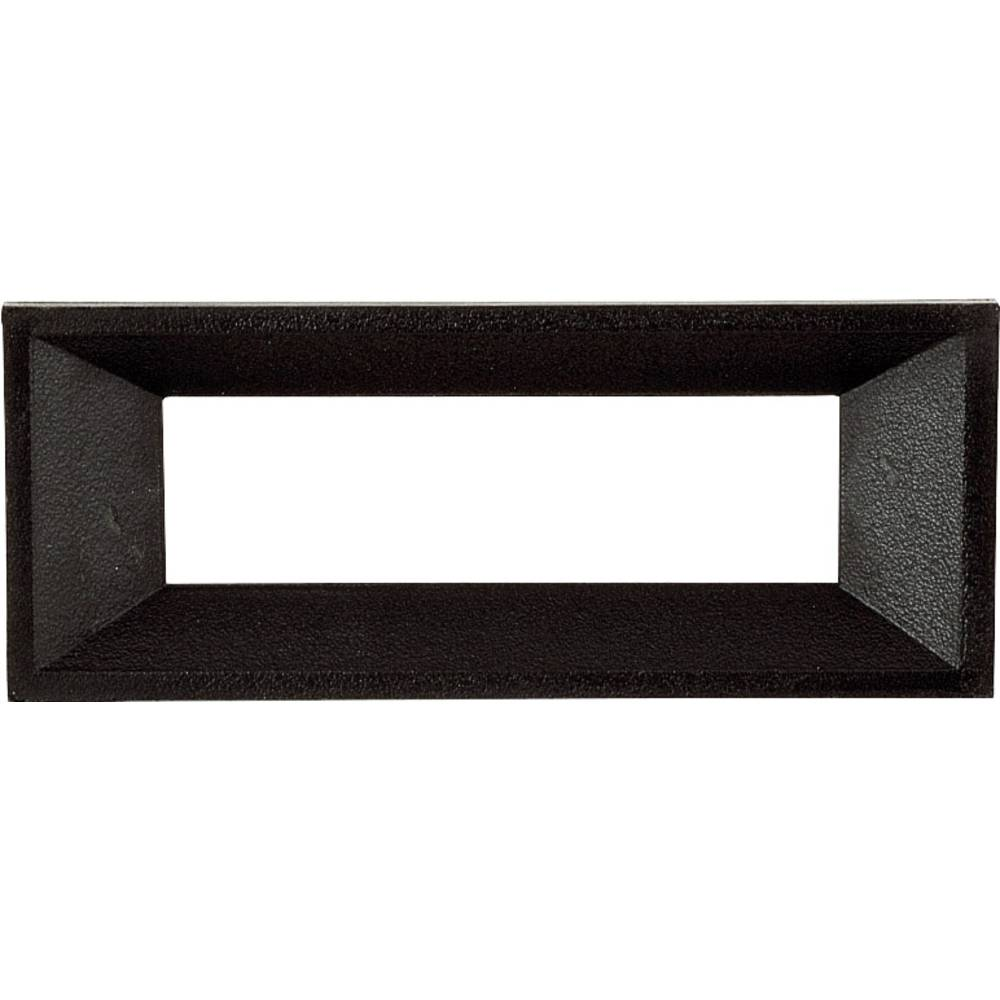 Prednji okvir, crni, pogodan za: LCD zaslon, 4-stellig umjetna masa Strapubox AR 4 A