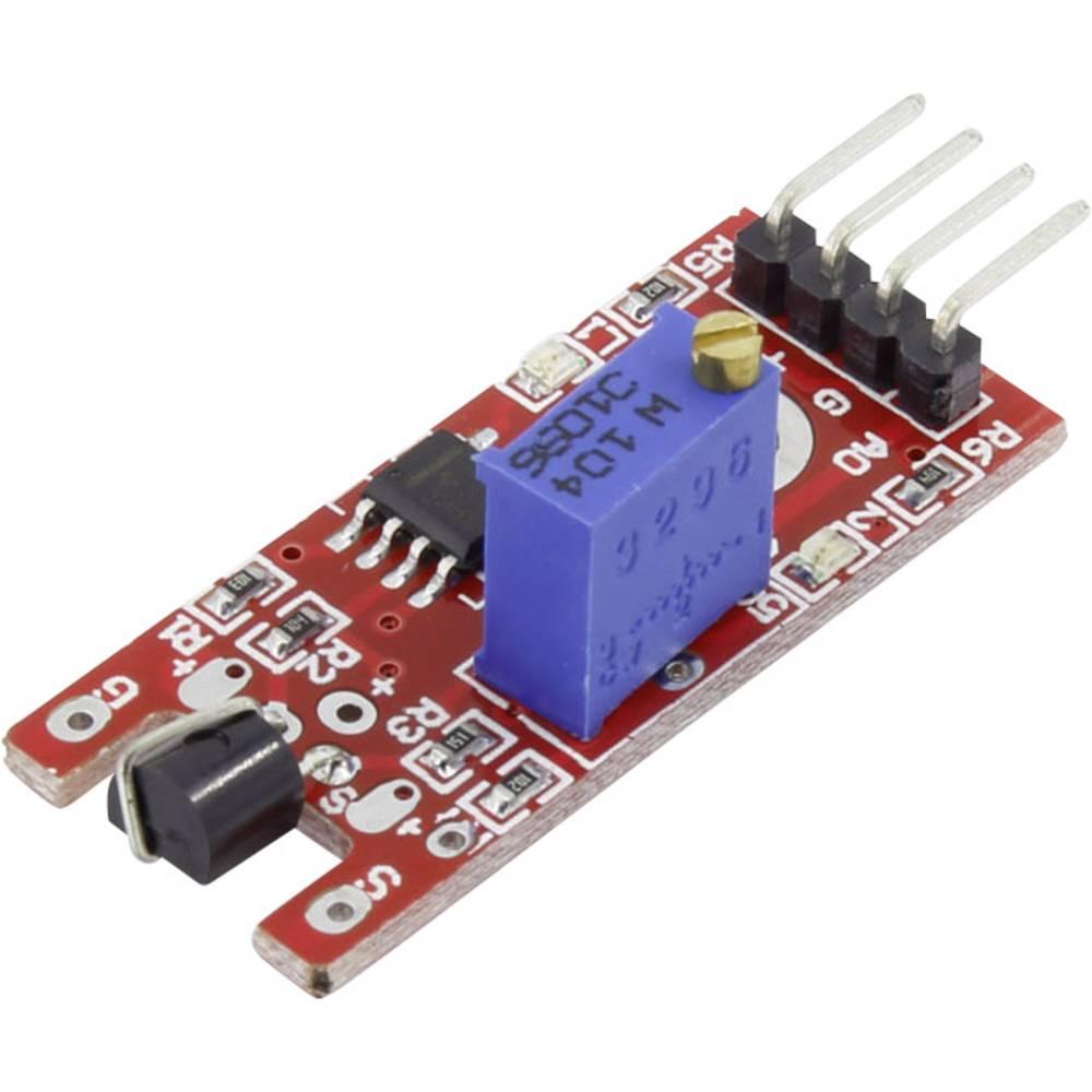 Hall senzor-modul Iduino SE061 5 V/DC do 5 V/DC letva s muškim kontaktima