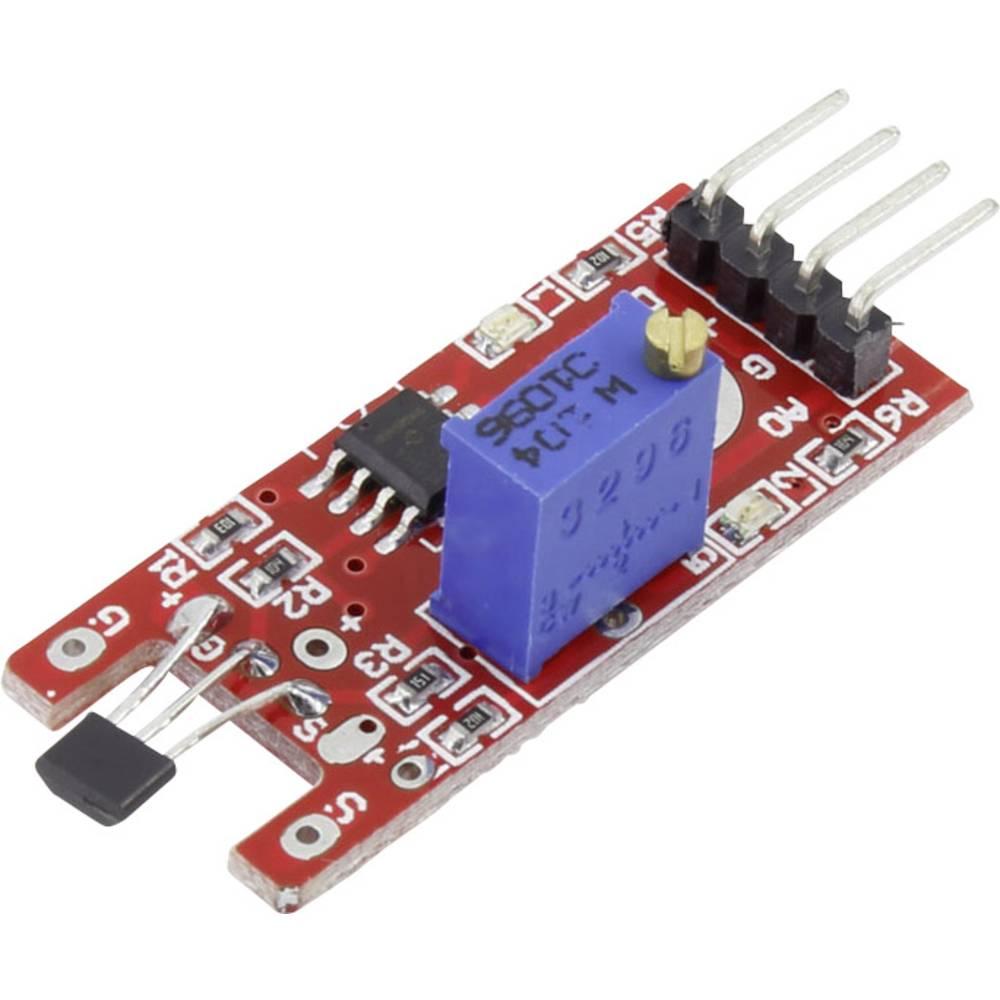 Hall senzor-modul Iduino SE014 5 V/DC do 5 V/DC letva s muškim kontaktima