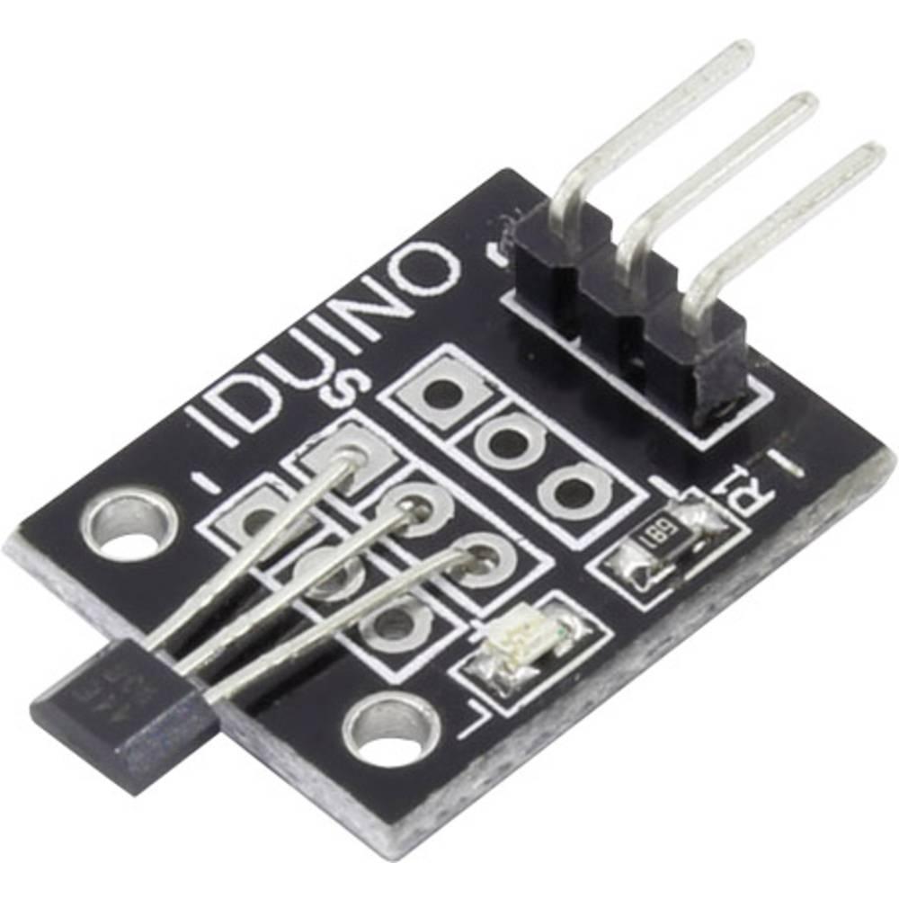 Hall senzor-modul Iduino SE022 5 V/DC do 5 V/DC letva s muškim kontaktima