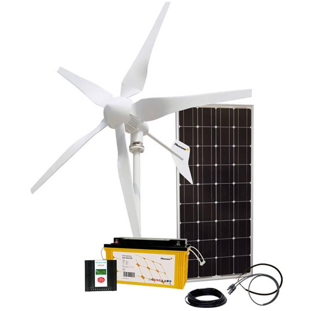 Phaesun Vjetarni generator Hybridkit Solar Wind One 1.0 Snaga (pri 10 m/s) 400 W 12 V 600297
