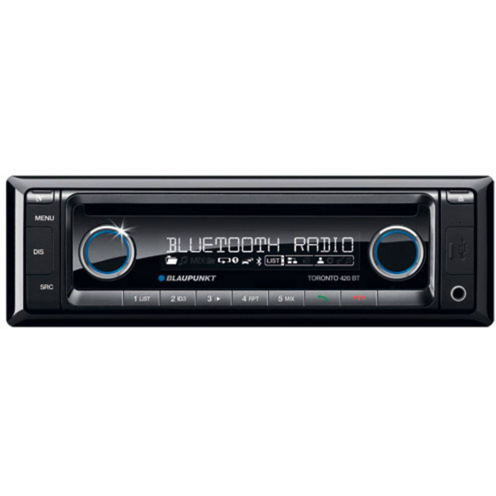 Bilradio Blaupunkt Toronto 440 BT Tilslutning til ratbetjening, Håndfrit Bluetooth®-system