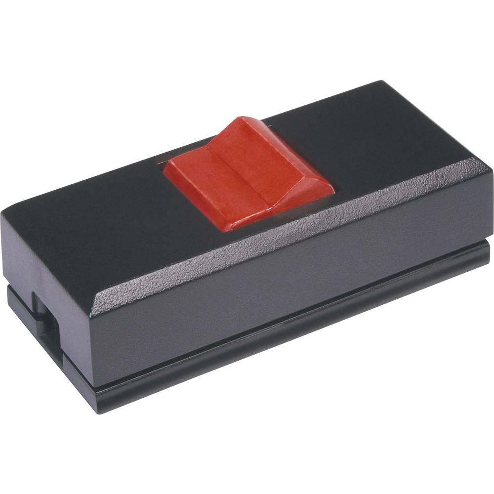Stikalo za kabel črne barve, rdeče barve 1 x izhod/vhod 2 A interBär 8075-044.01 1 kos