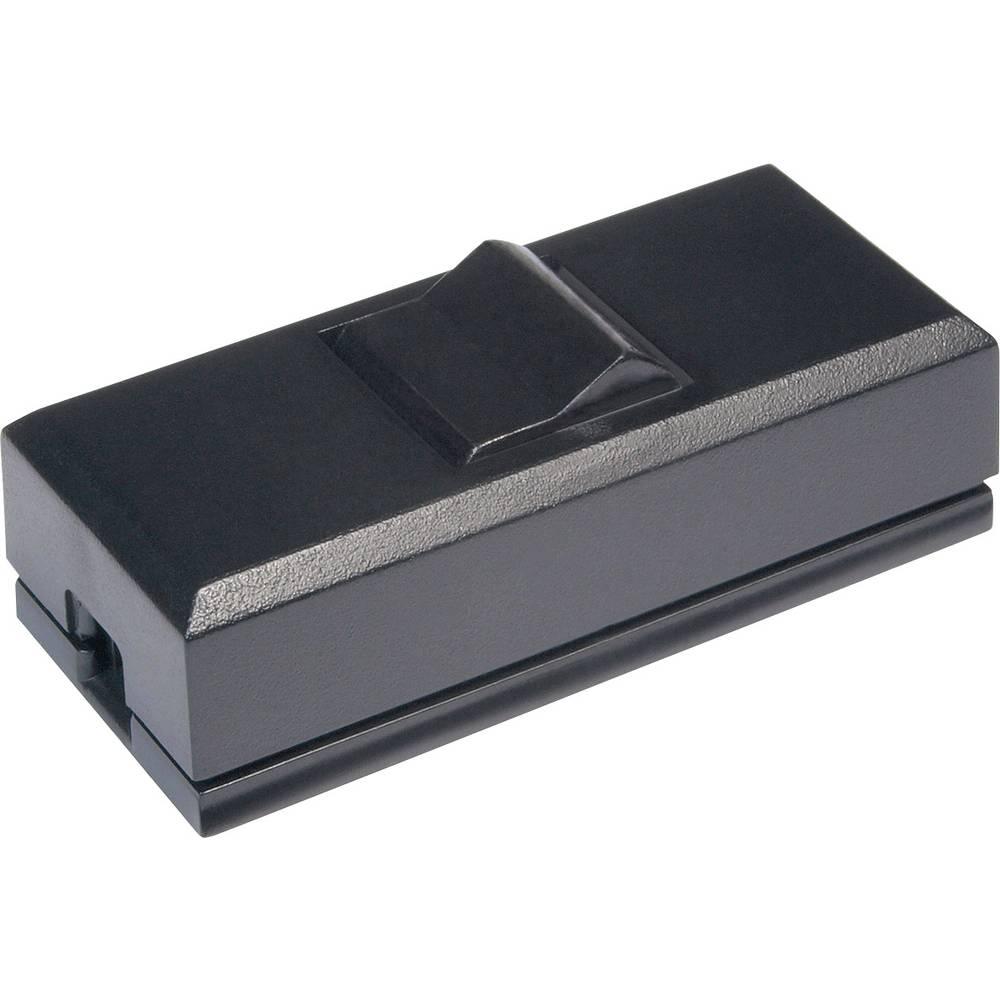 Stikalo za kabel črne barve, črne barve 1 x izhod/vhod 2 A interBär 8075-004.01 1 kos