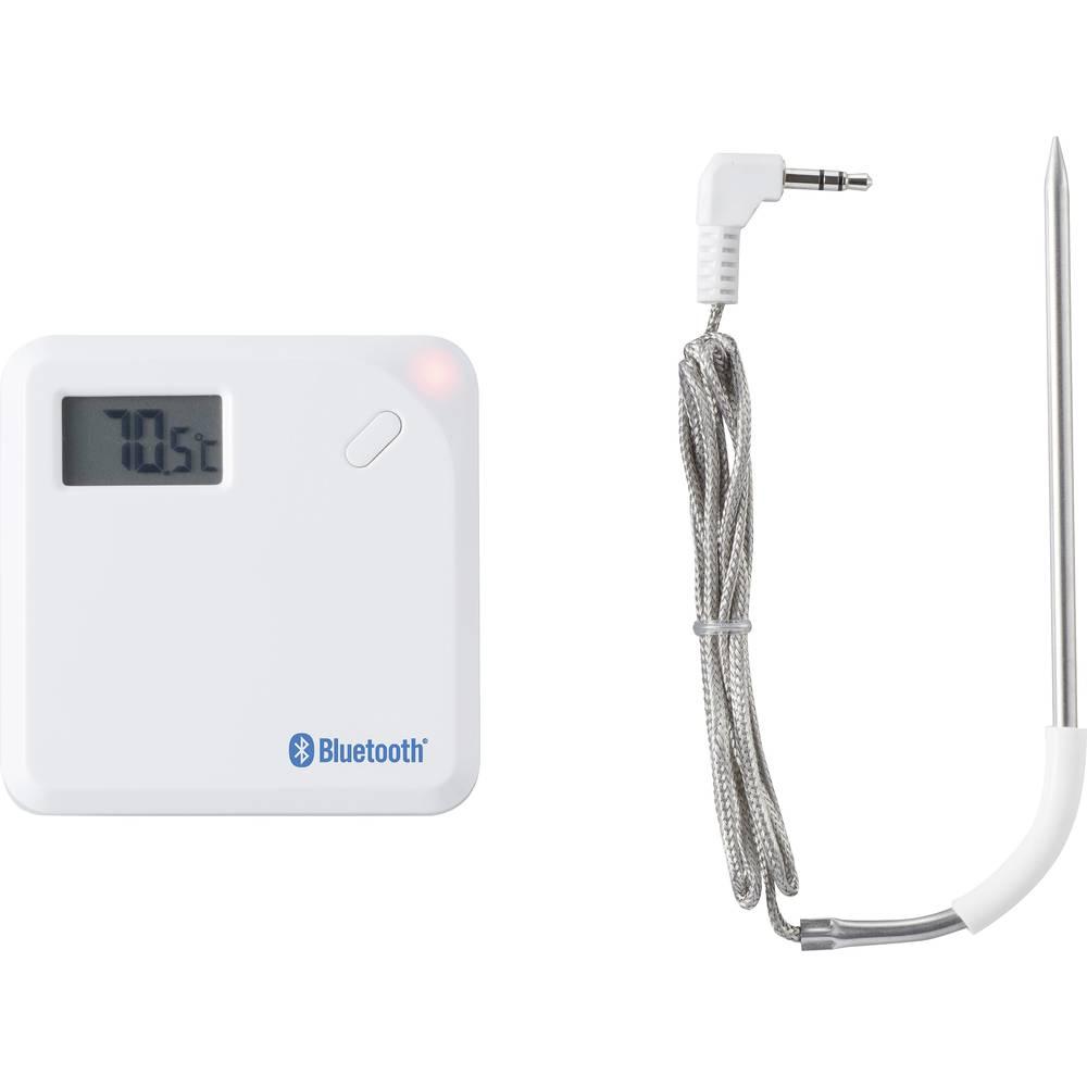 Bluetooth termometer A621, samodejni izklop, kabelski senzor, funkcija spomina/Data-Hold-funkcija, brezplačna aplikacija Eurochr